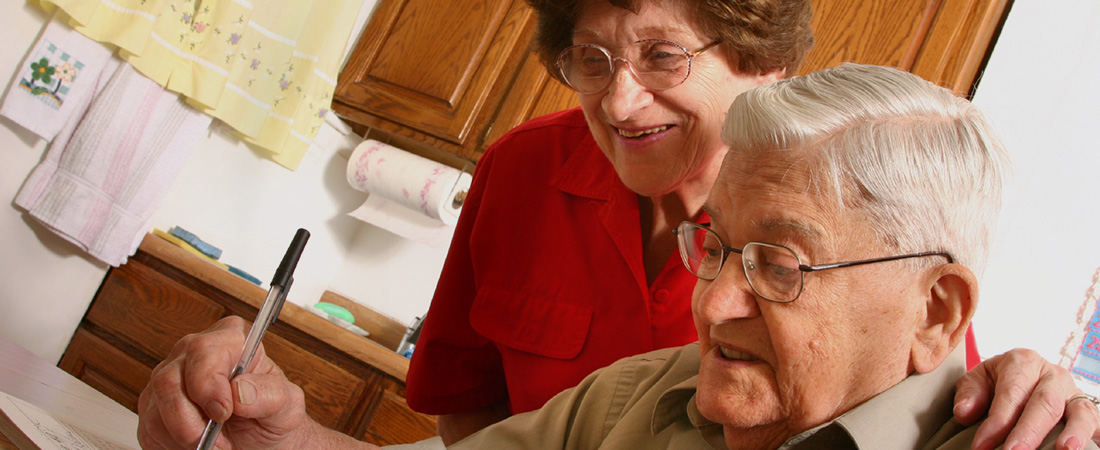 A photo of older adults