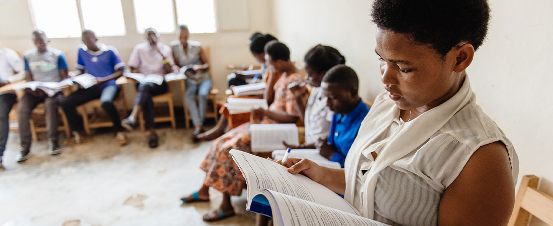 A classroom representing Join EDC at CIES 2021