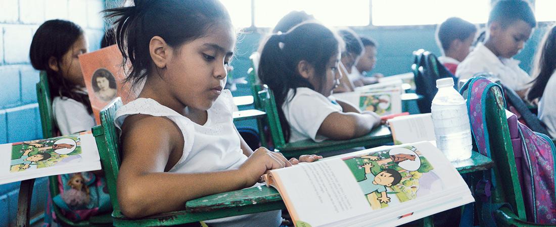 A photo from Honduras Reading Activity