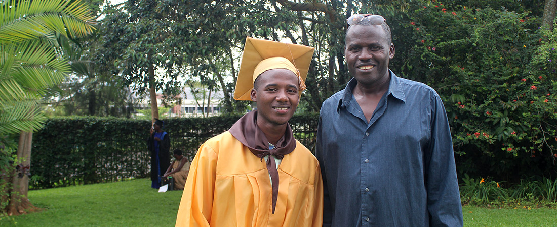 Photo from EDC's USAID Huguka Dukore workforce development program
