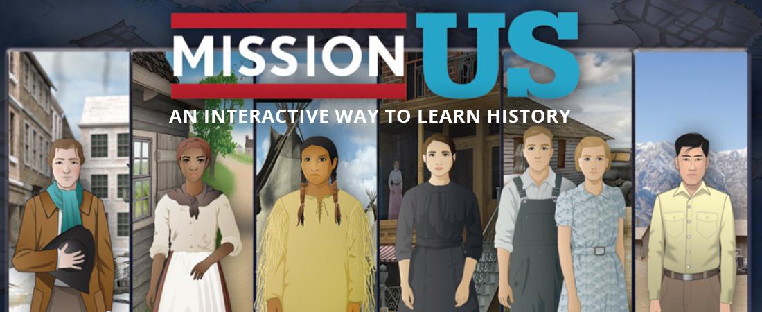 Mission US screenshot