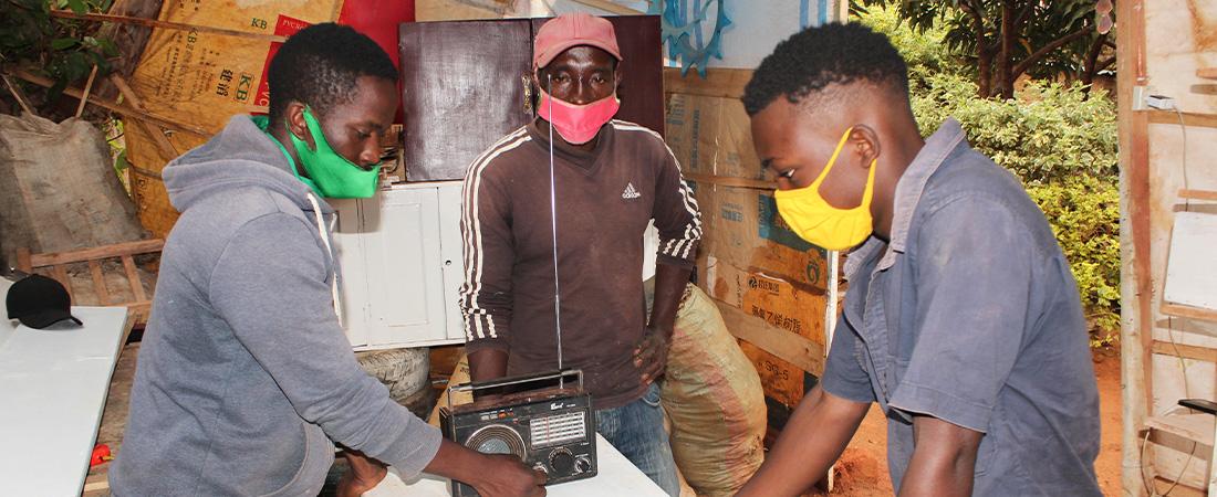 A photo of youth in Rwanda
