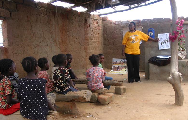 A photo of classroom use IRI