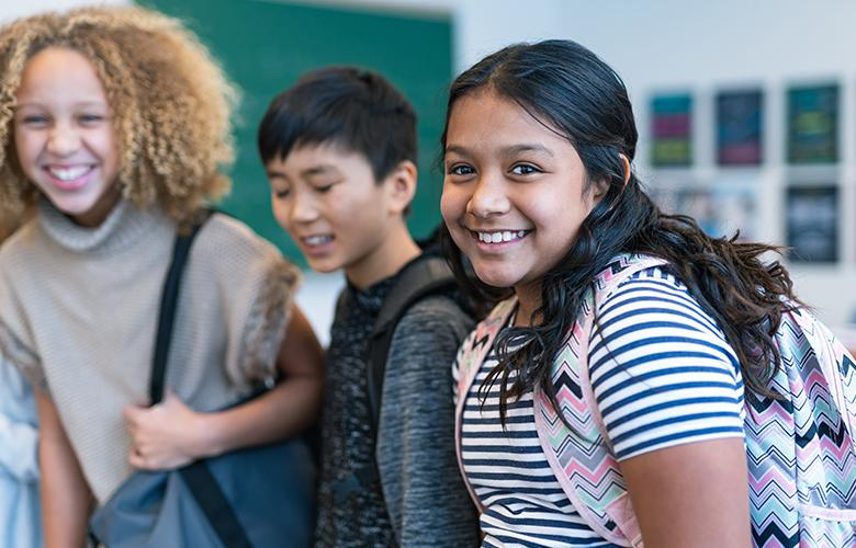 A photo of students representing Social-Emotional Supports – A Critical Part of Academic Recovery