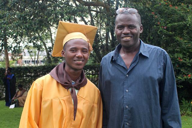Photo from EDC's USAID Huguka Dukore workforce development program