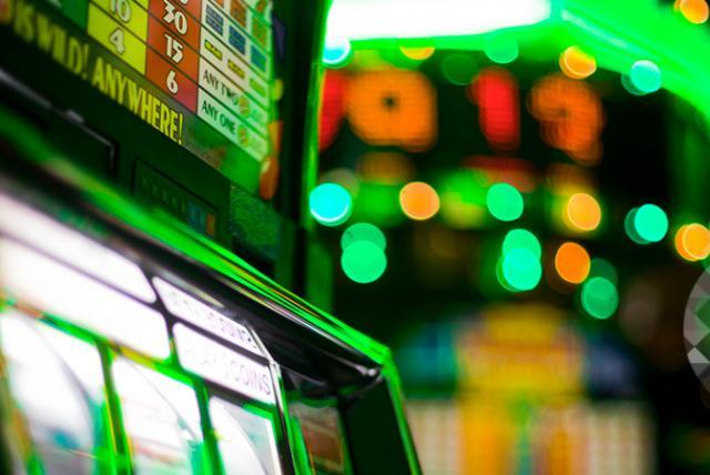 A photo of slot machine representing Preventing Problem Gambling in Massachusetts