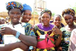 A photo from Mali representing Celebrating Courage on International Women's Day