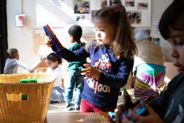 An early childhood photo representing EDC and Georgetown to Lead National Head Start Center