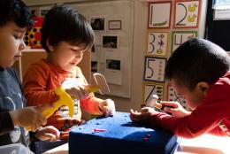 A photo of kids representing Effective Early Care and Education Collaboration