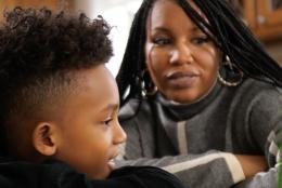 A photo of a parent and child representing Learning with Media, One Adventure at a Time