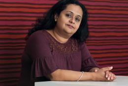 A photo of EDC's Sarita Pillai