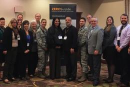 Photo of Zero Suicide Academy staff