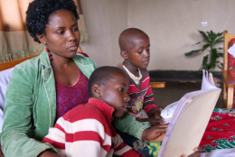 A photo from Rwanda representing Examining Gendered Experiences of the Pandemic on Project Beneficiaries